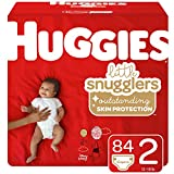 Huggies Little Snugglers Baby Diapers, Size 2 (12-18 lb.), 84 Ct, Giga Jr Pack (Packaging May Vary)