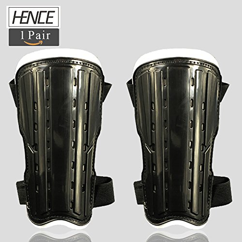 1 Pair Youth Child Soccer Shin Pad Shin Guards Protective Gear Football Guard Board Perfect Fit for 6-12 Years Old Kids By Hence