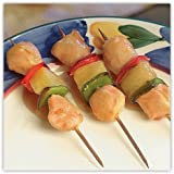 Order Wholesale Chicken Kabob with Pineapple for Party - Gourmet Frozen Chicken Appetizers (Set of 4 Trays)