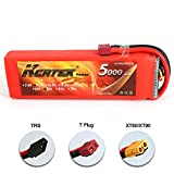 5000 mah deans - KCRTEK 3S 11.1V 50C 5000mAh Lipo battery with T Dean Plug for RC Traxxas RC Airplane Helicopter RC Car RC Truck RC Boat and other RC model by