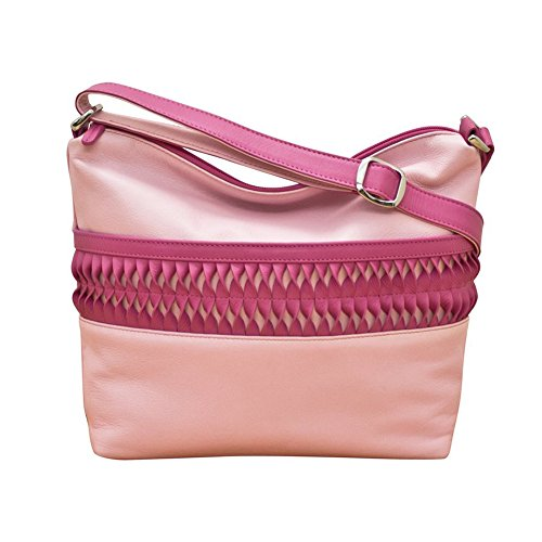 Crossbody Pastel 6632 Hobo Pink ili Leather Pink Twist Let's Hot wBnOHx