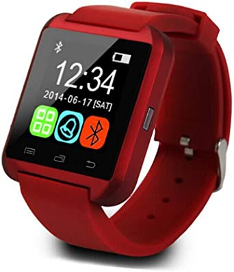 Amazon.com: Smartwatch Reloj inteligente Bluetooth U8 Reloj ...