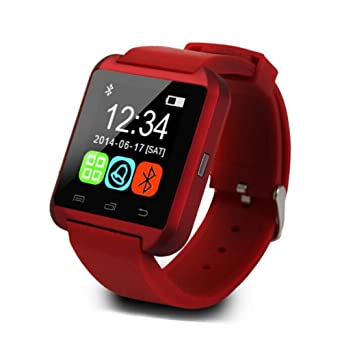 Amazon.com: Smartwatch Reloj inteligente Bluetooth U8 Reloj ...