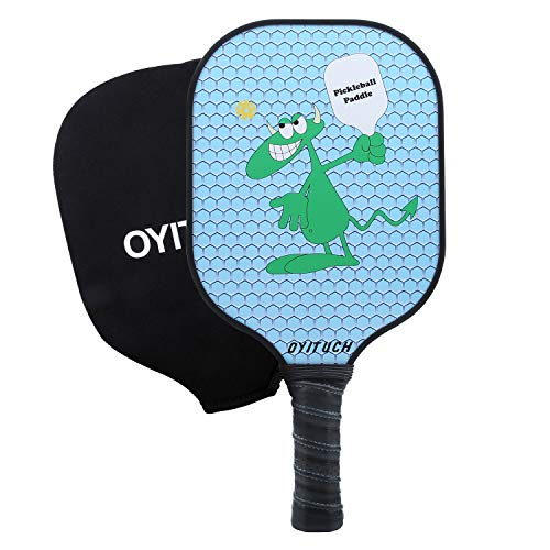 AIKER Pickleball Paddle Graphite Honeycomb Composite Core Paddles Include Racket Cover