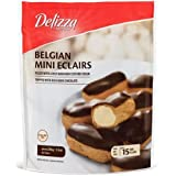 Delizza Belgian Mini Eclairs, 7.4 Ounce - 15 per pack -- 8 packs per case.