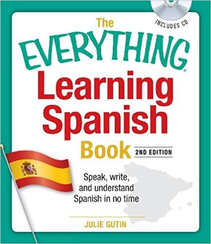 Amazon com: The Everything Learning Spanish Book with CD: Speak