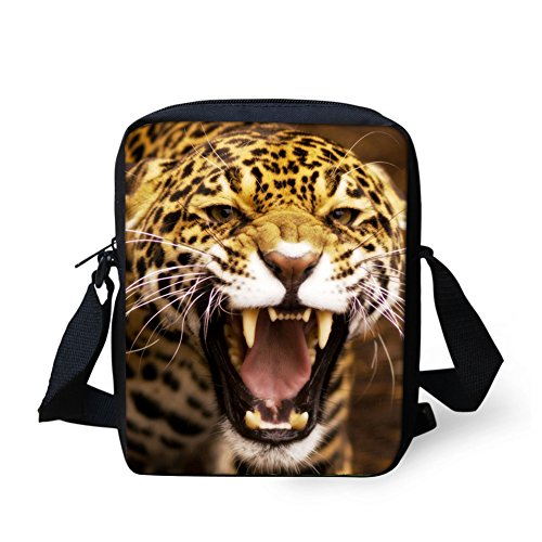 IDEA HUGS with 3 Packet Bags Handbag Coin Crossbody Pattern Bag Strap Leopard Horse Small Messenger Mini Shoulder Adjustable rrxFqw