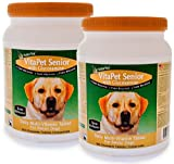 2-PACK NaturVet VitaPet Senior with Glucosamine (730 Chewable Tablets), My Pet Supplies