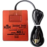 5 32 fuel hose - Zerostart 3400122 (Wolverine Model 40CSACE) Silicone Pad Heater Engine Oil, Reservoir, Biofuel and Hydraulic Fluid Heater   CSA Approved   120 Volts   500 Watts