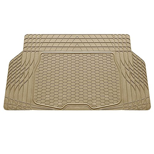 (FH Group F16403TAN Cargo Mat Fits Most Sedans, Coupes and Small SUVs (Semi Custom Trimmable Vinyl Tan))