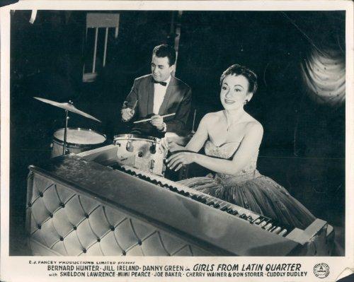 - GIRLS OF FROM THE LATIN QUARTER ORIGINAL LOBBY CARD CHERRY WAINER