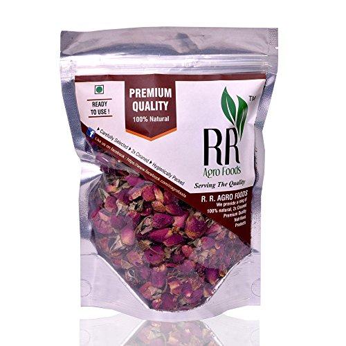 - R R AGRO Organic Whole Rose Buds- 100 g