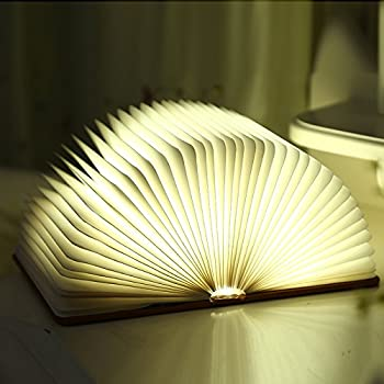 Small Led Book Lamp Colorfull Rechargeable Book Light 4w Usb Charger Led Fold Book Light
