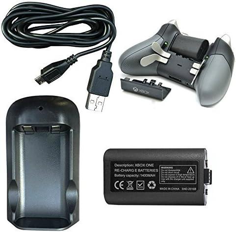 1400mah jugar y carga batería recargable & Puerto de carga pack ...