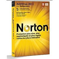 Norton antivirus 2011 (5 postes, 1 an)