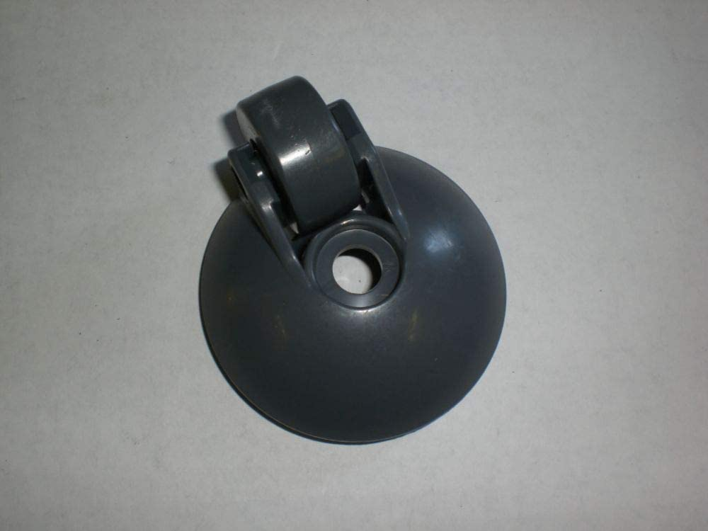 Kenmore 4370690 Vacuum Caster Wheel Genuine Original Equipment Manufacturer (OEM) Part Gray