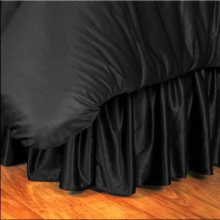 NCAA Missouri Tigers Bed Skirt, King, Black