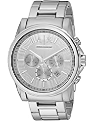 Armani Exchange Mens AX2058  Silver  Watch