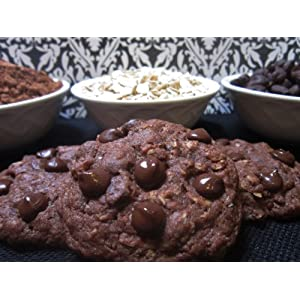 Chubby Babies Double Chocolate Oatmeal Lactation Cookie Mix - 1 Mix (makes 24 cookies)