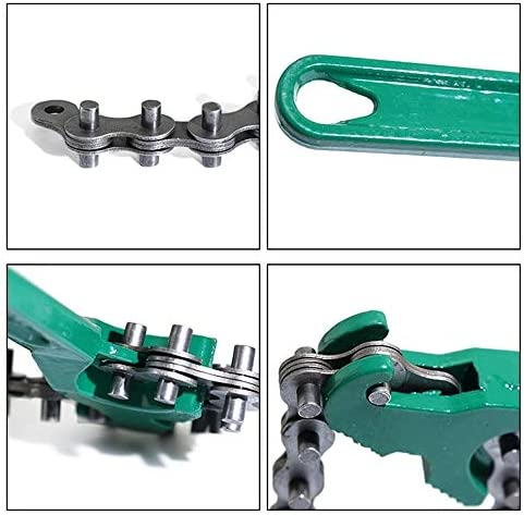 HomDSim Automotive Oil Fuel Filter Chain Wrench Adjustable Removal Remover Tool 200-300mm 8 inch