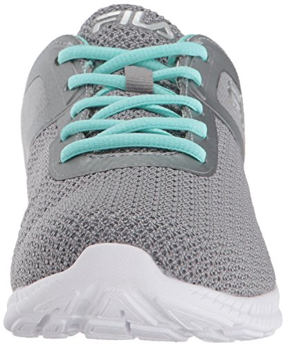 Fila Womens Memory Skip Running Shoe Monumento / Aruba Blu / Bianco