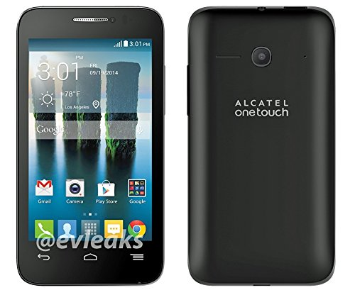 Alcatel One Touch Evolve 2 Black GSM International Unlocked Android Smartphone- No Contract (Unlocked) Any GSM network WORLDWIDE !! by Alcatel One Touch (Image #3)