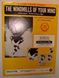 The Windmills of Your Mind: Sheet Music for Voice and Piano