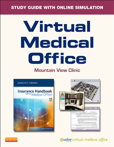 Virtual Medical Office For Insurance Handbook For The Medical Office  User Guide And Access Code   12E