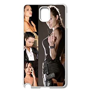 YUAHS(TM) Personalized Hard Back Cover Case for Samsung Galaxy Note 3 N9000 with Angelina Jolie YAS123941