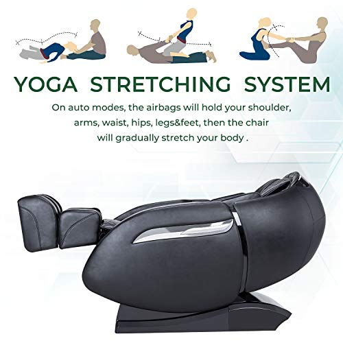 Massage Chair Recliner, Zero Gravity Massage Chair, Full Body Shiatsu Massage Chair with SL Double...