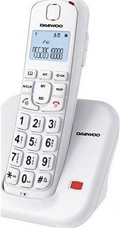 Daewoo DTD-7200BK - Teléfono inalámbrico, Color Negro: Daewoos: Amazon.es: Electrónica