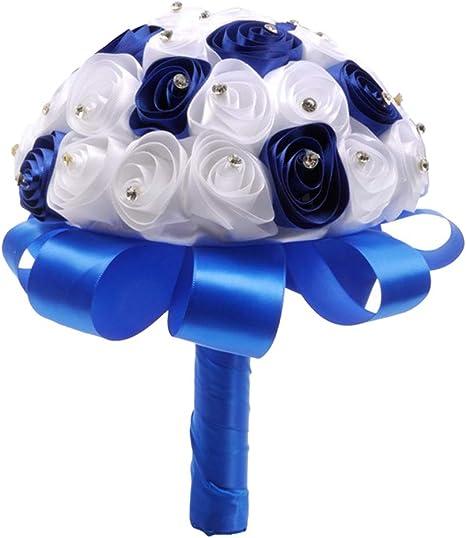ブルー を 花束 ロイヤル に