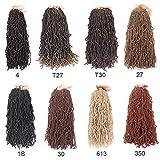 6 Packs 18 Inch Nu Faux Locs Crochet Braids Goddess