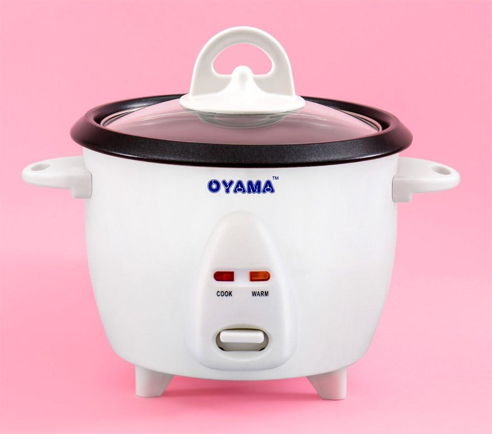 Amazon.com: Oyama 3 taza (arroz sin cocinar) cocina de arroz ...