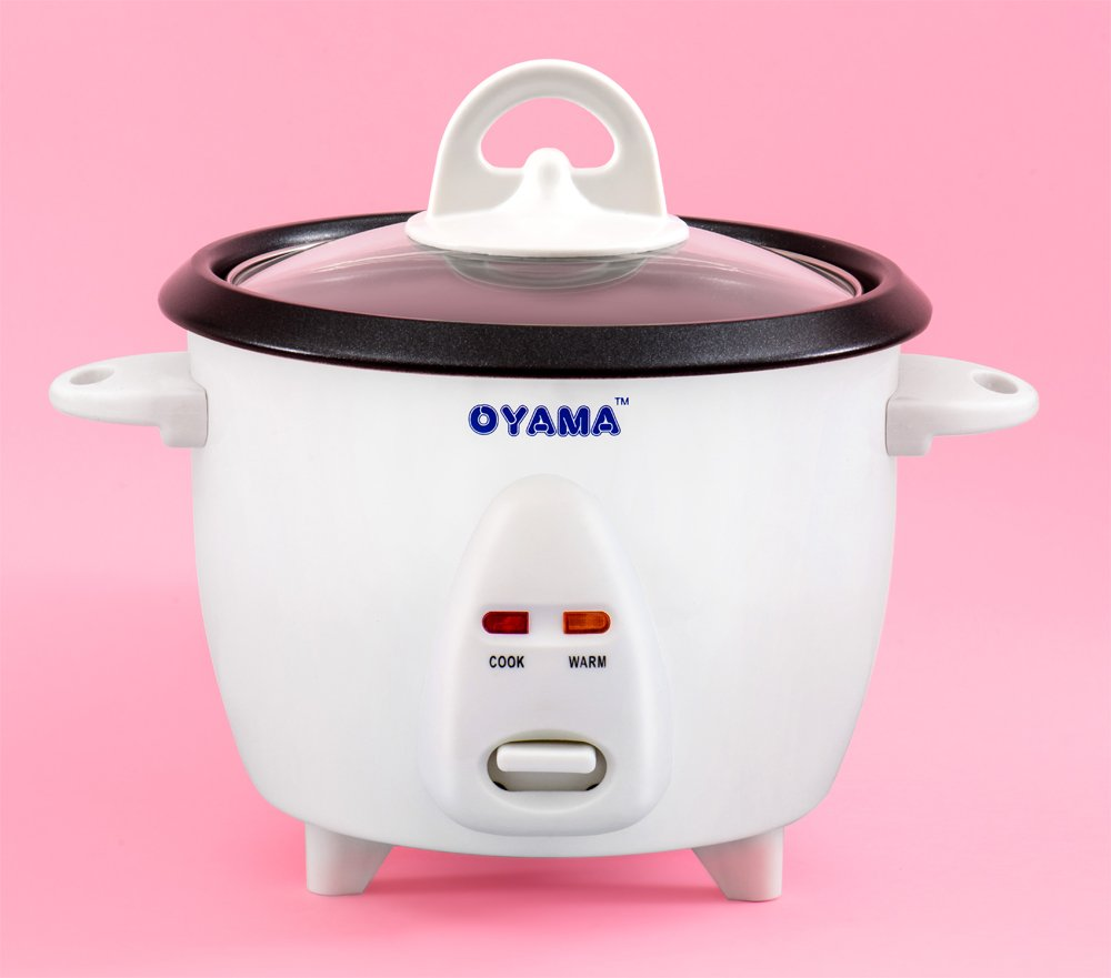 Oyama 3 Cup uncooked rice Traditional Rice Cooker-Warmer