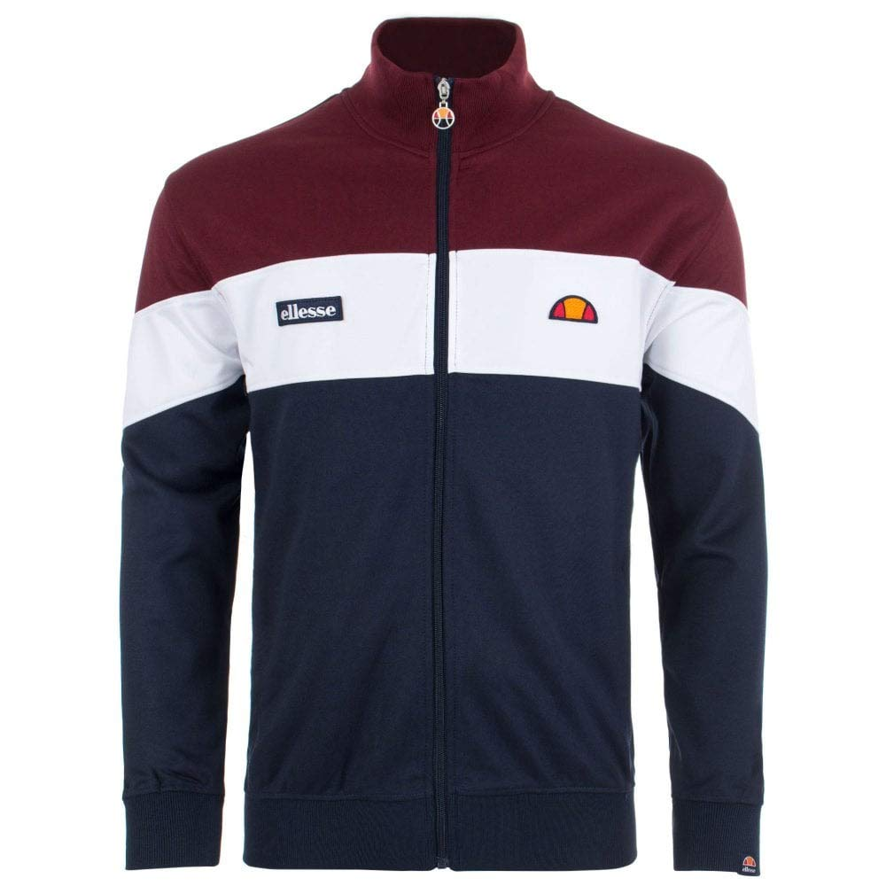 Ellesse Trainingjkt Caprini Bordo Navy