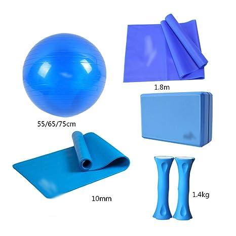 Amazon.com: NSC Yoga Ball Set Fitness Ball Yoga Mat Yoga ...