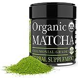 Ceremonial Matcha Green Tea Powder - 1 Ounce - Highest Quality Japanese Matcha - Perfect for Tea Ceremonies - Made From 100 Percent Organic Tea Leaves - Detox Tea