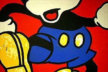 Vivatopolin stampa 50x70/ colori pop art cartoon by box21