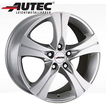 Aluminio Llanta autec Ethos Porsche Cayenne 9 Pa 8.5 x 18 Brillant Plata: Amazon.es: Coche y moto