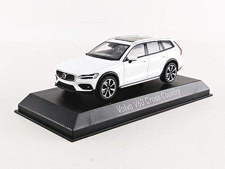 Norev 870026 Kompatibel Mit Volvo V60 Cross Country Weiss 2019 Maßstab 1 43 Modellauto Spielzeug