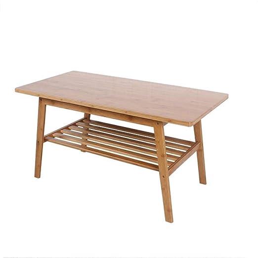 Mesas YANFEI, Tabla de Madera Simple de bambú, Mesa de té Creativa ...