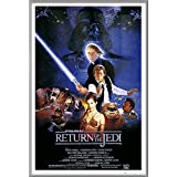 "Star Wars: Episode VI - Return Of The Jedi - Framed Movie Poster / Print (Regular Style) (Size: 24"" x 36"")"