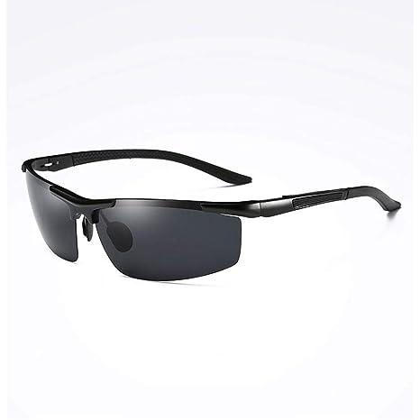 Gafas de sol Aviador Vogue UV Running Deportivas polarizadas para Hombre - Hipster Personality Driving Mirror