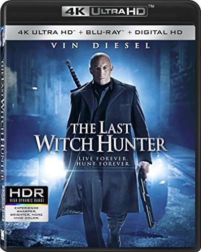 4K Blu-ray : The Last Witch Hunter (4K Mastering, 2 Pack, 2 Disc)