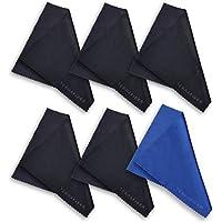terrafiber Calidad Premium paquetes de paño de limpieza de microfibra para las tabletas de teléfonos celulares anteojos Camera Lenses joyas y otras superficies delicadas, 6piezas
