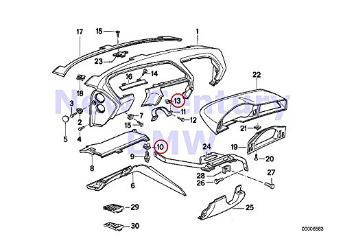 4 X BMW Genuine Body Equipment Vehicle Trim Plug-In Retainer 840Ci 840i 850Ci 850CSi 735i 735iL 740i 740iL 750iL 740i 740iL 740iLP 750iL 750iLP 645Ci 650i M6 650i 645Ci 650i M6 650i 328i 328xi 335i 33