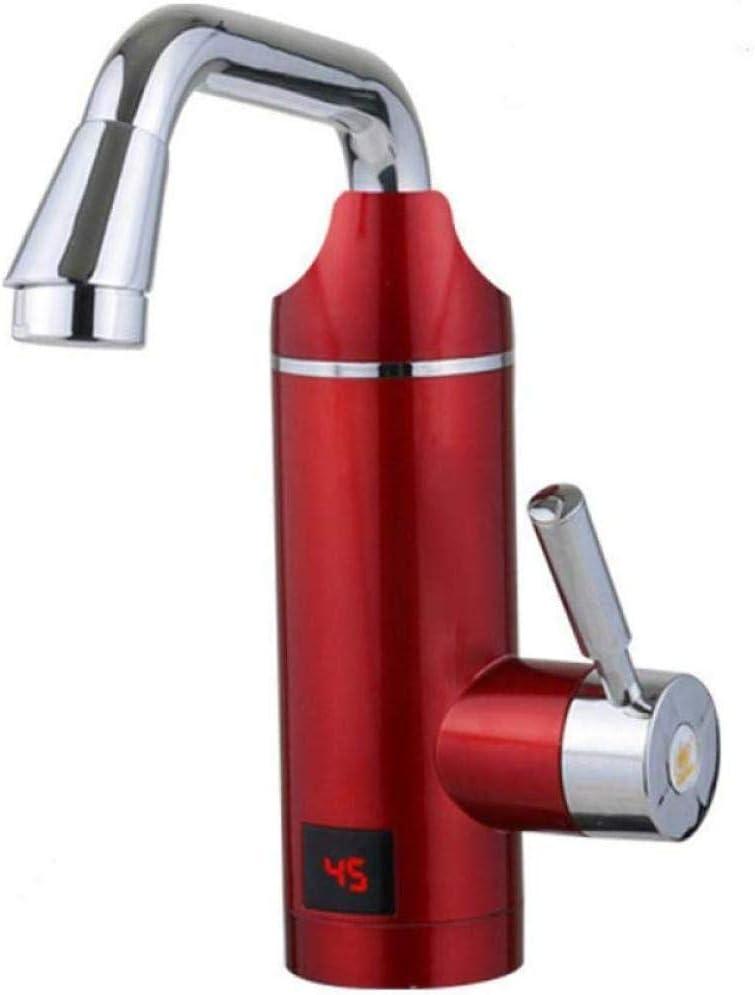 H/&RB 3000 LCD Electric Faucet Calentador De Agua El/éctrico Grifo De Agua Caliente El/éctrico Cocina Digital Instant/ánea De Agua Caliente