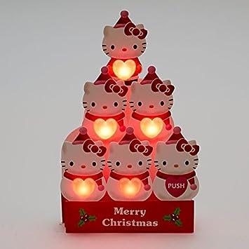 Amazon com: Hello Kitty Winter Snowman Lights & 16 Melodies