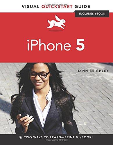 Price comparison product image iPhone 5: Visual QuickStart Guide